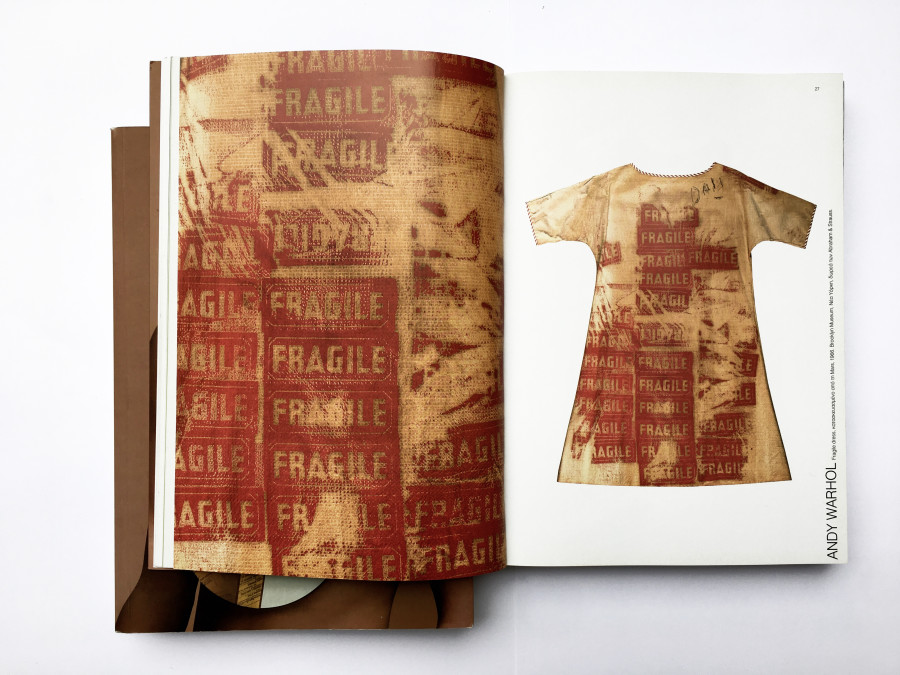 Andy Warhol Fragile dress, manufactured by Mars, 1966. Brooklyn Museum 66.237.1, New York, Gift of Abraham & Straus